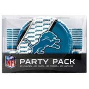 Detroit Lions 20-Place Setting Party Pack
