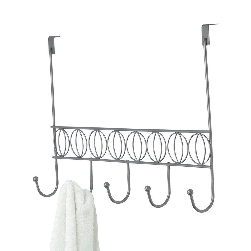Home Basics Seville Over The Door 5 Hook Hanging Rack