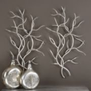 Uttermost Metal Branch Wall Decor 2-piece Set