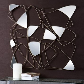 Oswin Modern Metal Wall Decor