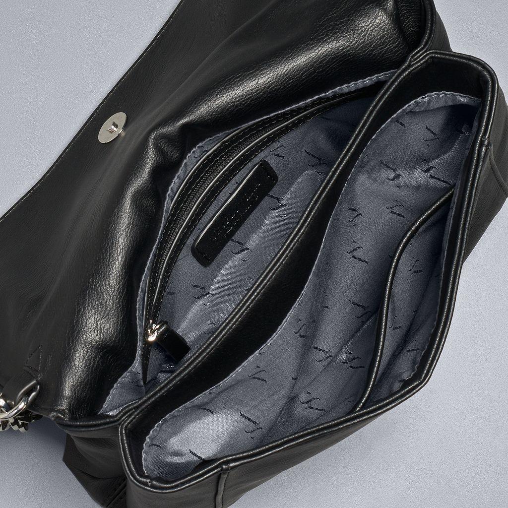 Simply Vera Vera Wang Palvee Grommet Crossbody Bag