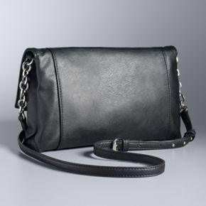 Simply Vera Vera Wang Palvee Grommet Crossbody Bag