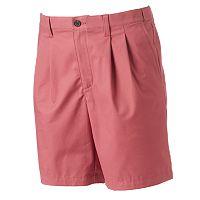 Men's Croft & Barrow® True Comfort Classic-Fit Stretch Pleated Shorts