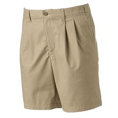 Men's Croft & Barrow® True Comfort Classic-Fit Stretch Pleated Shorts