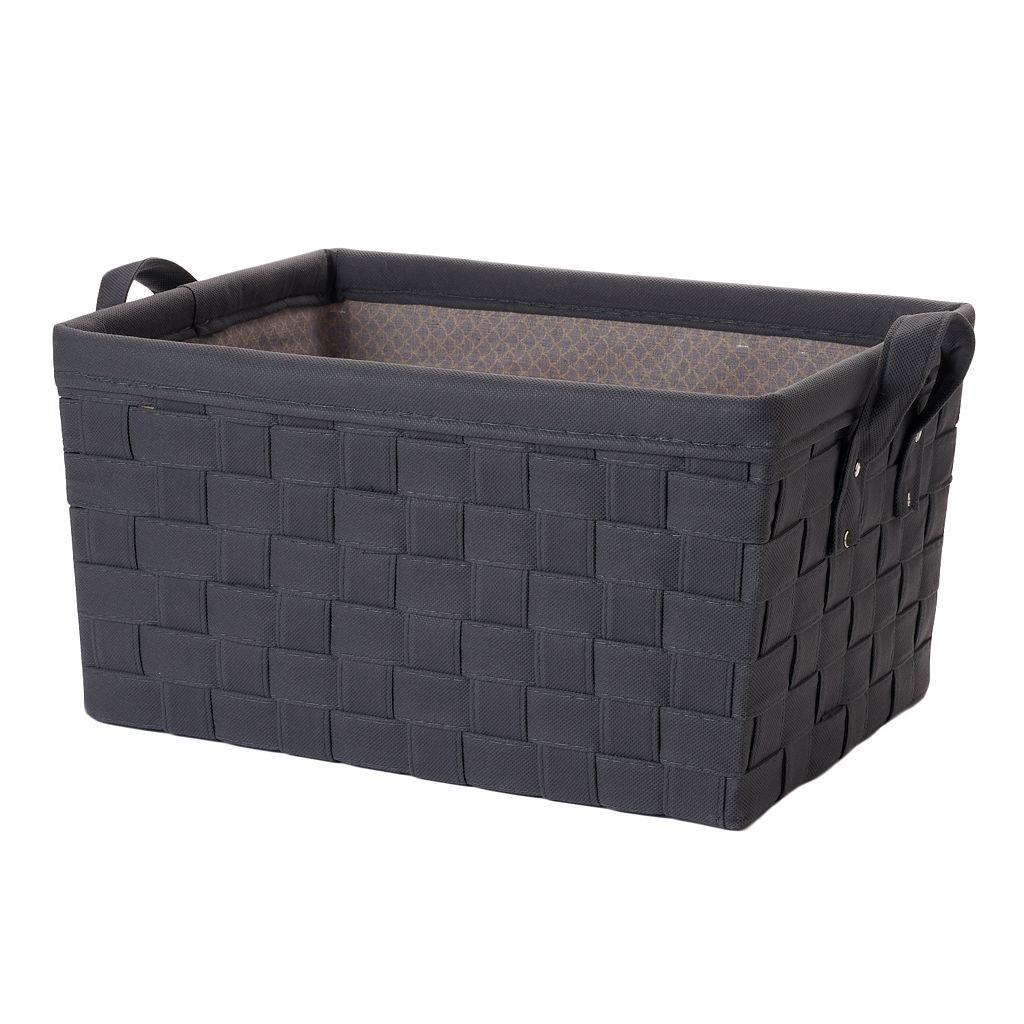 LOFT Essentials by Simple Concepts Large Non-Woven Weave Storage Bin