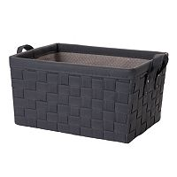 LOFT Essentials by Simple Concepts Large Non-Woven Weave Storage Bin
