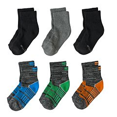 Toddler Boy Stride Rite 6-pk. Bryce Crew Socks