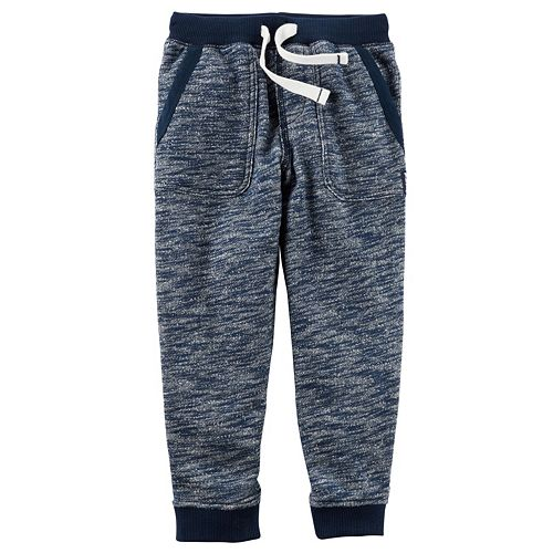 Boys 4-8 Carter's French Terry Pull-On Marled Jogger Pants