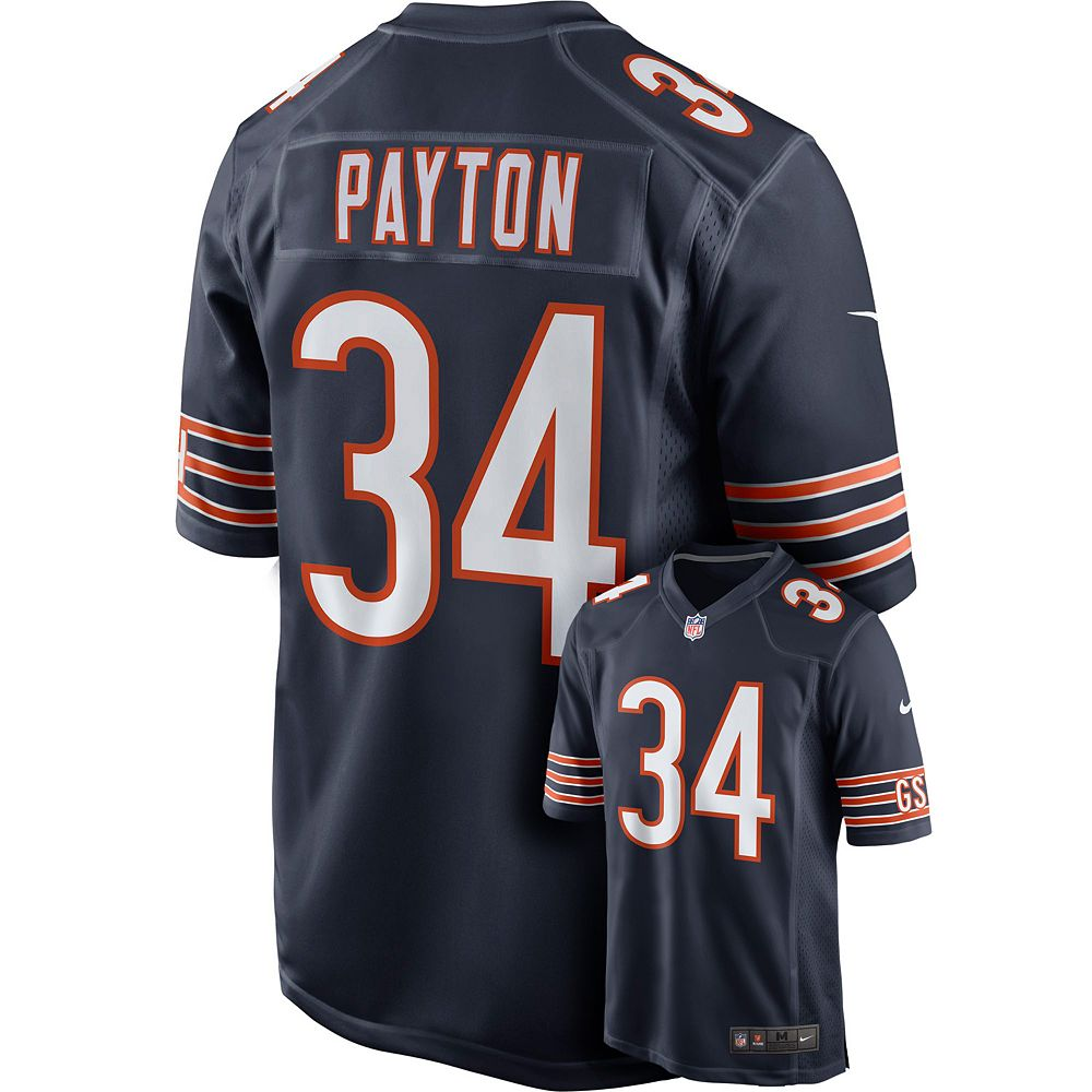 2e4c3110 Men's Nike Chicago Bears Walter Payton Elite NFL Replica Jersey