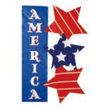 "Evergreen Enterprises ""America"" Indoor / Outdoor Garden Flag"