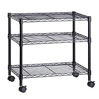 Honey-Can-Do 3-Shelf Steel Cart