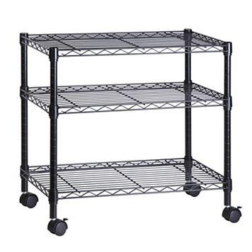 Honey-Can-Do 3-Shelf Steel Cart