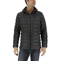Men's adidas Outdoor Down Hooded Puffer Jacket
