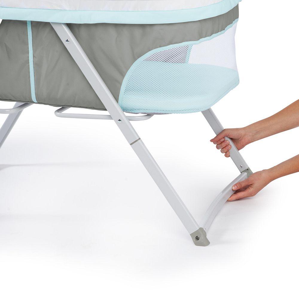 ingenuity my baby folding bassinet -