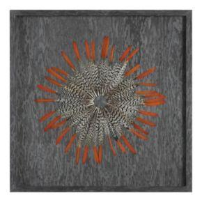 Kumara Feather Shadow Box Wall Decor