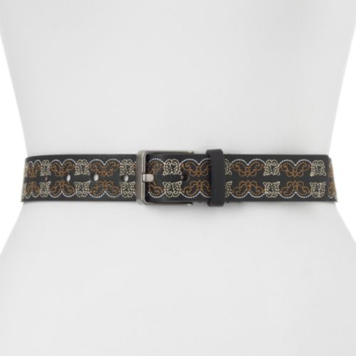 Women's Apt. 9® Embroidered Scrollwork Belt