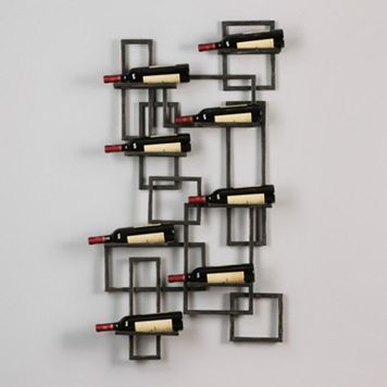 Scheldt Wine Rack Wall Decor