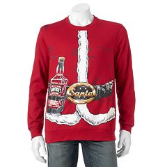 Men's 'Old Saint Nick's Chill Ale' Fleece Pullover