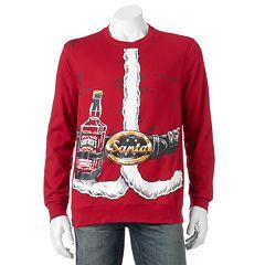 Men's 'Old Saint Nick's Chill Ale' Fleece Pullover