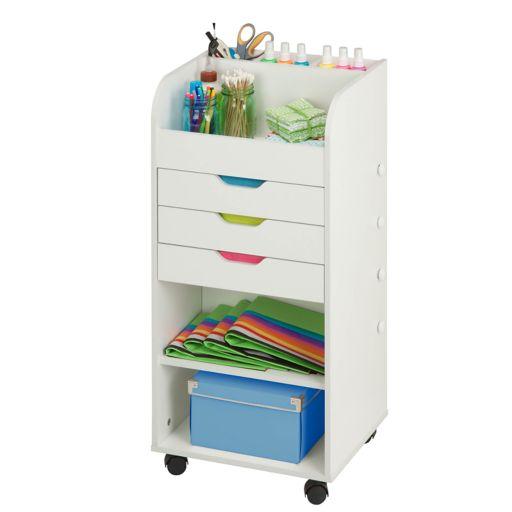 Honey-Can-Do 3-Drawer Craft Storage Cart