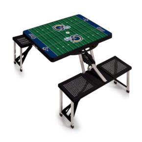 Picnic Time Los Angeles Rams Foldable Football Table