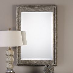 Allegan Distressed Wall Mirror
