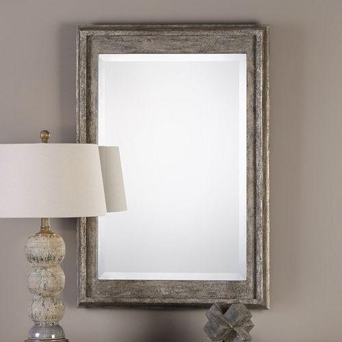 Allegan Distressed Wall Mirror