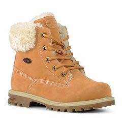 Lugz Empire Hi Faux-Fur Preschool Kids' Water-Resistant Boots