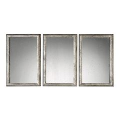 Uttermost Alcona Wall Mirror 3-piece Set