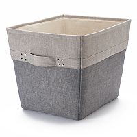 Bonded Wire Frame Canvas Floor Bin