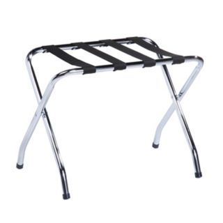 Honey-Can-Do Chrome Luggage Rack