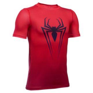 Boys 8-20 Under Armour Marvel Spider-Man Tee