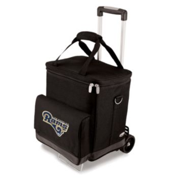 Picnic Time Los Angeles Rams Cellar Wine Cooler & Hand Cart