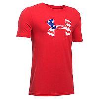 Boys 8-20 Under Armour American Logo Tee