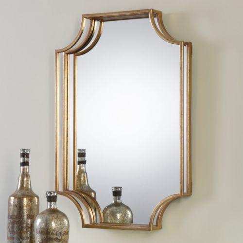 Lindee Geometric Open Frame Wall Mirror