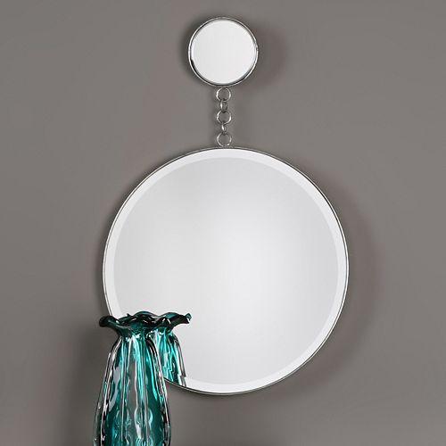 Ophelia Double Circle Wall Mirror