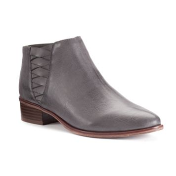 Candie's® Women's Woven Shaft Ankle Boots