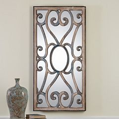 Uttermost Rosalind Scroll Wall Mirror