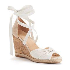 Apt. 9 Cheery Women's Wedge Sandals by