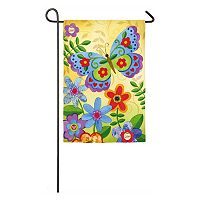 Evergreen Enterprises Butterfly Indoor / Outdoor Garden Flag