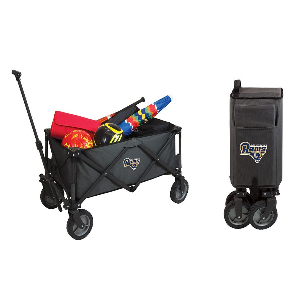 Picnic Time Los Angeles Rams All-Terrain Adventure Wagon