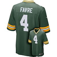 Men's Nike Green Bay Packers Bret Favre Elite NFL Replica Jersey