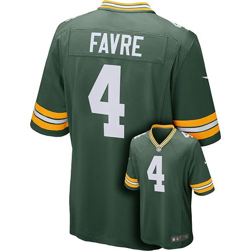 best sneakers 4f4fe de250 Men's Nike Green Bay Packers Brett Favre Elite NFL Replica ...