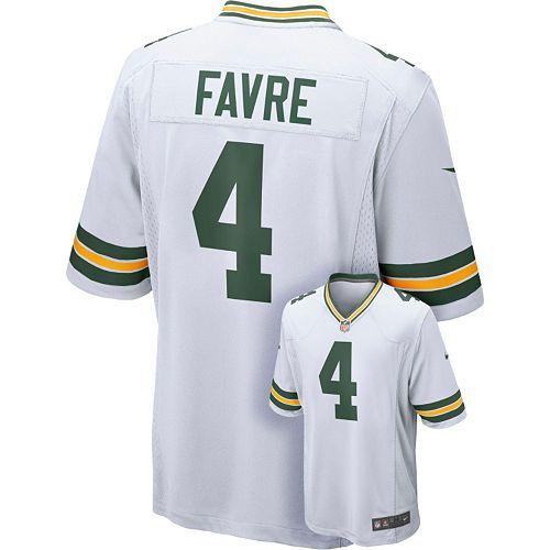 best sneakers 00210 78aef Men's Nike Green Bay Packers Brett Favre Elite NFL Replica ...