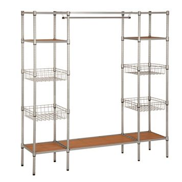 Honey-Can-Do Standing Steel Closet
