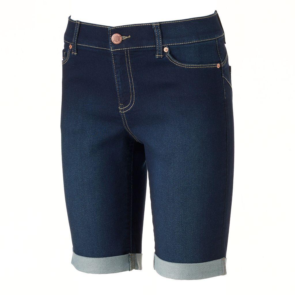 Women's Juicy Couture Flaunt It Bermuda Jean Shorts