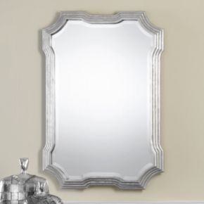 Halima Silver Finish Wall Mirror