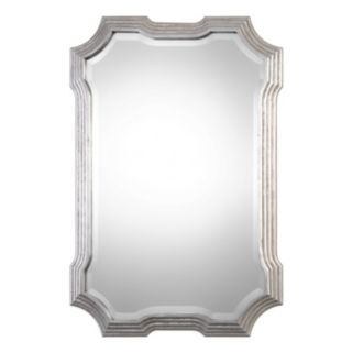 Halima Silver Finish Wall Mirror