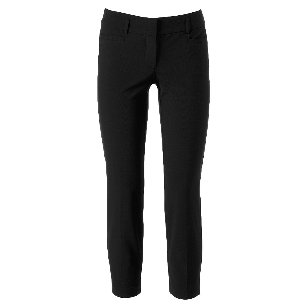 Juniors' Candie's® Audrey Ankle Suiting Pants