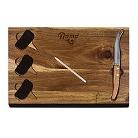 Picnic Time Los Angeles Rams Delio Bamboo Cheese Board